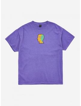 Breathing Problems Shortsleeve T Shirt   Purple by Brain Dead