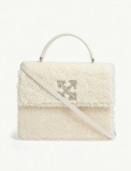 Shearling Jitney 2.8 Shoulder Bag by Off White C/O Virgil Abloh