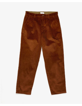 Wide Tuck Pants Corduroy by John Elliott