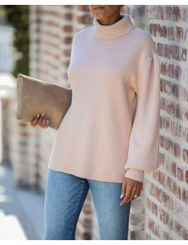 Romance Is Alive Turtleneck Sweater by Vici