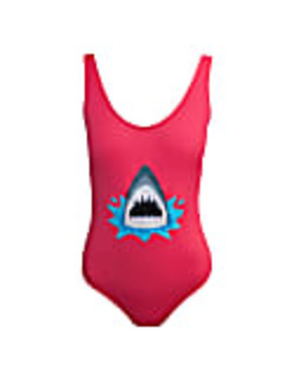 Sharky Embroidered Swimsuit by My Pair Of Jeans