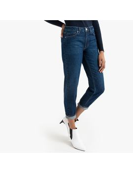 "Regular Boyfriend Jeans, Length 27.5"" by La Redoute Collections"