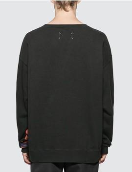 Flower Sweatshirt by Maison Margiela
