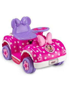 Disney's Minnie Mouse Toddler Ride On Toy By Kid Trax by Kid Trax Disney Minnie & Friends Minnie Happy Helpers
