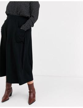Asos Design Curve   Jupe Mi Longue Avec Poches by Asos Design