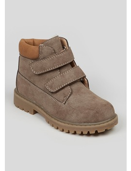 Kids Hiker Boots (Younger 4 12) by Matalan