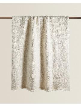 Textured Blanket  Blankets   Bedroom by Zara Home