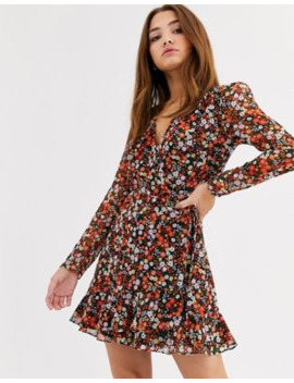 The East Order Harlie Floral Print Dress by The East Order
