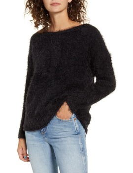 Gaia Eyelash Sweater by Only