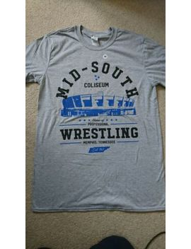 Wrestle Crate   Midsouth T Shirt by Ebay Seller