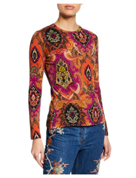 Neo Nomad Jersey Long Sleeve Top by Etro
