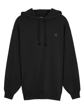 Farrin Face Hooded Cotton Sweatshirt by Acne Studios