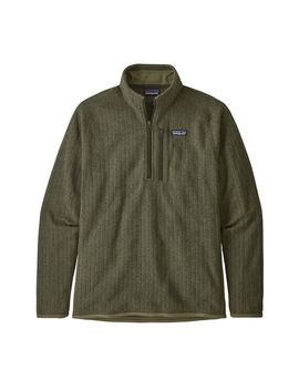Patagonia Men's Better Sweater™ Rib Knit 1/4 Zip Fleece by Patagonia