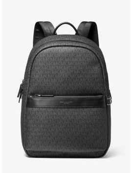 Greyson Logo Backpack by Michael Kors Mens