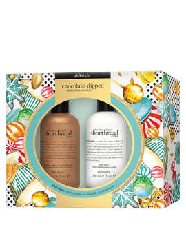 Philosophy Chocolate Dipped Shortbread Cookie Gift Set by Philosophy