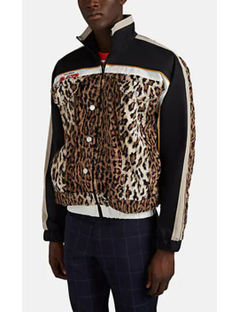 Faux Fur Inset Tech Fabric Jacket by Martine Rose