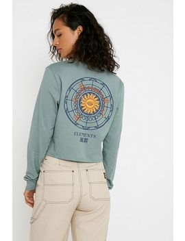 Uo Sundial Crop Long Sleeve Skate T Shirt by Urban Outfitters