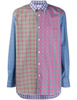 Patchwork Check Shirt by Comme Des Garçons Shirt
