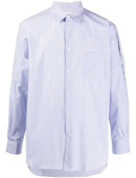 Striped Buttoned Shirt by Comme Des Garçons Shirt