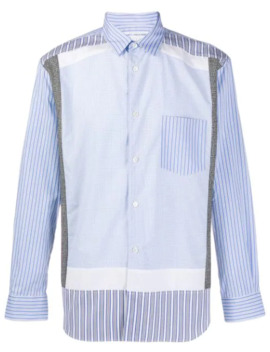 Contrast Stripe Shirt by Comme Des Garçons Shirt
