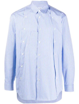 Asymmetric Striped Shirt by Comme Des Garçons Shirt