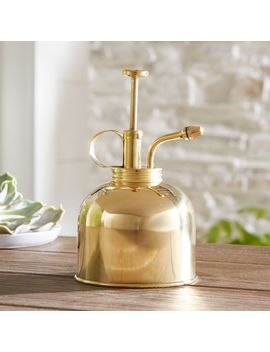 Gold Plant Mister by Crate&Barrel