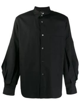 Wide Sleeve Plain Shirt by Comme Des Garçons Homme Plus