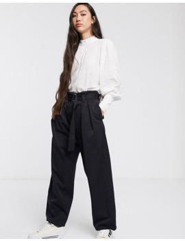 Selected Femme Puff Sleeve White Blouse by Selected