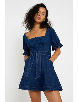 Finder Keepers Miami Denim Mini Dress by Finders Keepers