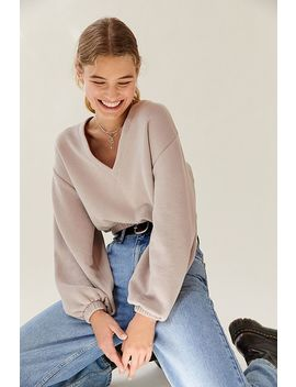 Out From Under Vivian V Neck Top by Out From Under
