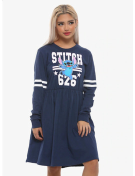 Disney Lilo & Stitch Athletic Long Sleeve Dress by Her Universe
