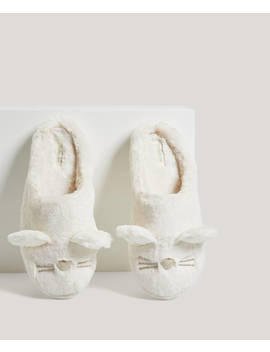 Cute Mouse Slippers by Oysho
