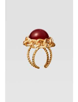 Pack Of Limited Edition Colorful Gem Rings by Zara