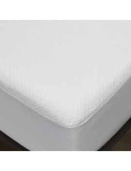 E Luxury Supply® Dimpled Waterproof Twin Xl Mattress Protector In White by Bed Bath And Beyond