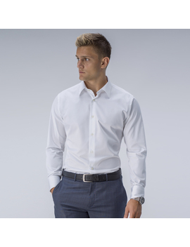 Example Styles White Business Shirt by Tailor Store