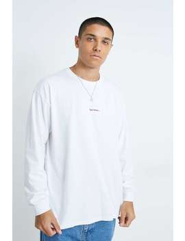 Iets Frans… Ecru Long Sleeve T Shirt by Iets Frans...