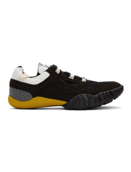 Black Berun Sneakers by Acne Studios