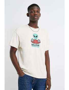 Uo Alien Believe Stone T Shirt by Urban Outfitters