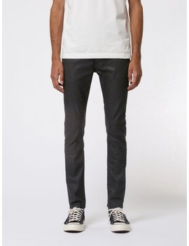 Tight Terry Painted Black by Nudie Jeans