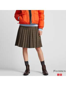 Jw Anderson Pleated Skirt by Uniqlo