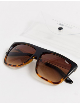 Quay Australia Otl Sunglasses In Tort by Quay Eyeware