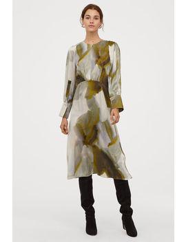 Knöchellanges Seidenkleid by H&M