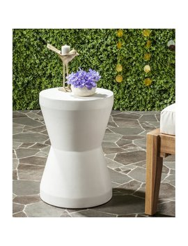 Cybele Concrete Stool by Sol 72 Outdoor