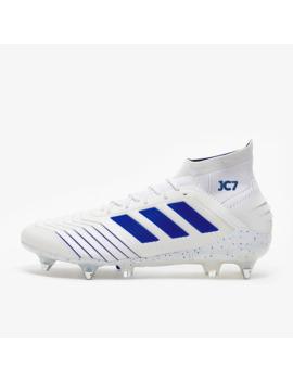 Adidas Predator 19.1 Sg   Weiß/Bold Blau by Pro Direct Soccer