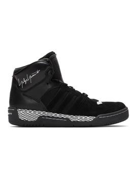 Black Hayworth Sneakers by Y 3