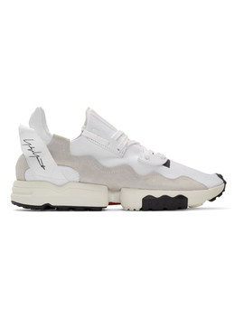 White Zx Torsion Sneakers by Y 3