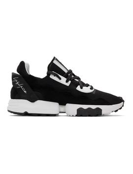 Black Zx Torsion Sneakers by Y 3