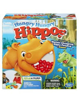 Hasbro Gaming Hungry Hungry Hippos by Walmart