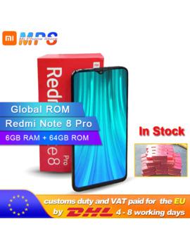 Global Rom Xiaomi Redmi Note 8 Pro 6 Gb 64 Gb Teléfono Inteligente Octa Core Mtk Helio G90 T 64 Mp Cámara Trasera 4500m Ah 2040x1080 Teléfono by Ali Express.Com