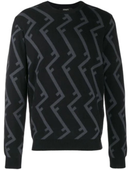 Roof Ff Motif Jumper by Fendi